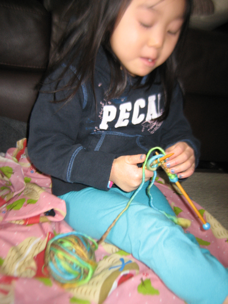 little knitter