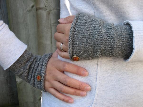 everyday wristers knitting pattern